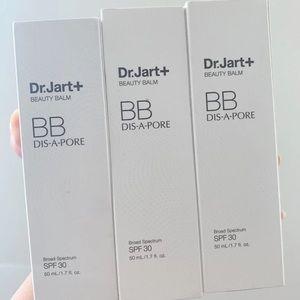 3 set of Dr jart dis a pore BB cream